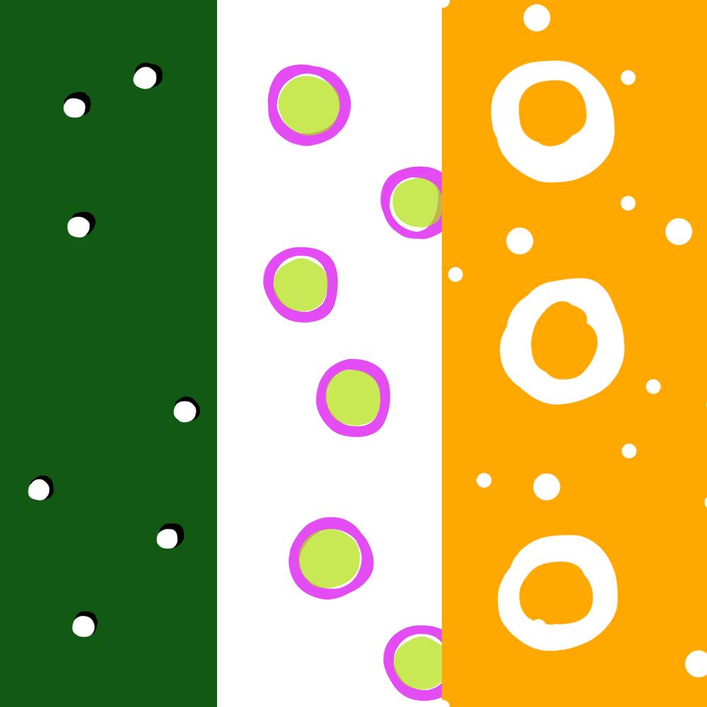 Dots, Spots. Circles