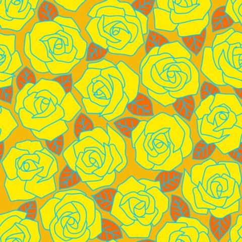 Dense Rose Solid Orange